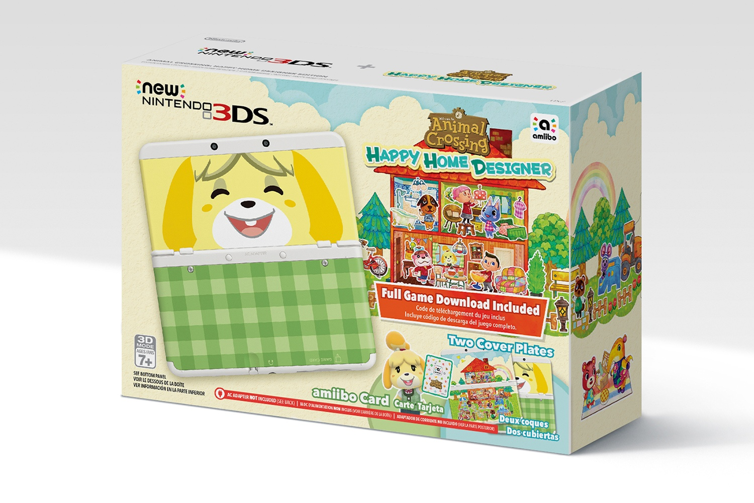 Stock photo of Animal Crossing N3DS Bundle.
