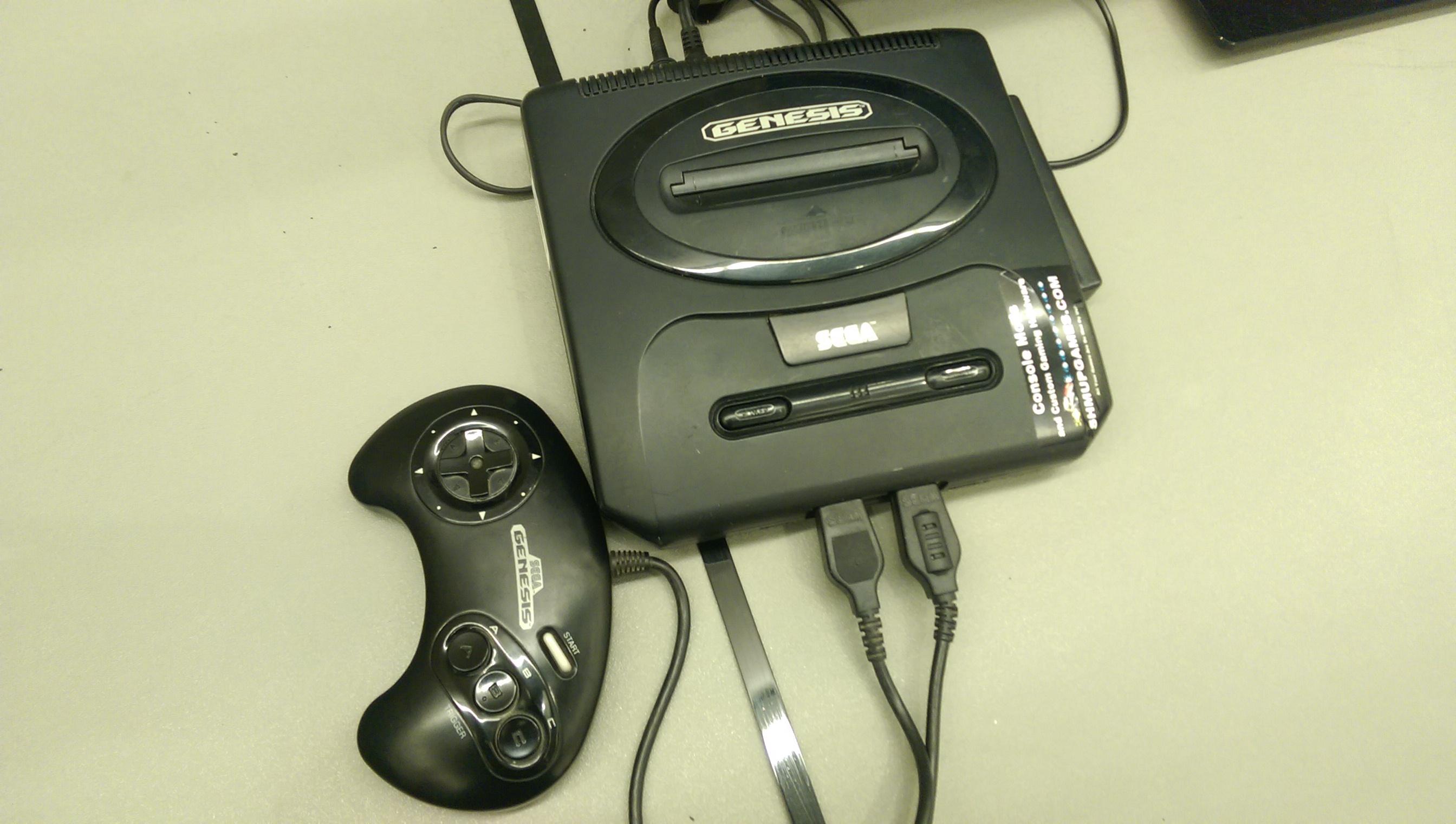 Unused Sega Genesis.